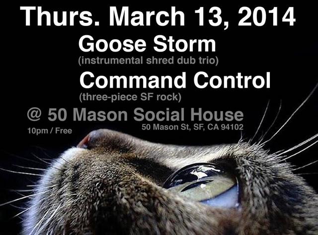 50 Mason St Flyer — 3/13/2014